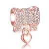 Pandora Bow Charm Bracelet | Material 925 Sterling Silver