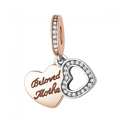 Beloved Mother Charm Pandora | Material 925 Sterling Silver