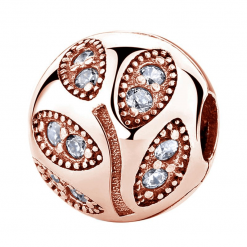 Pandora Rose Gold Leaf Charm