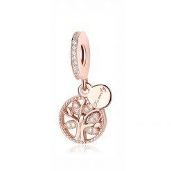 Pandora Rose Gold Family Tree Charm