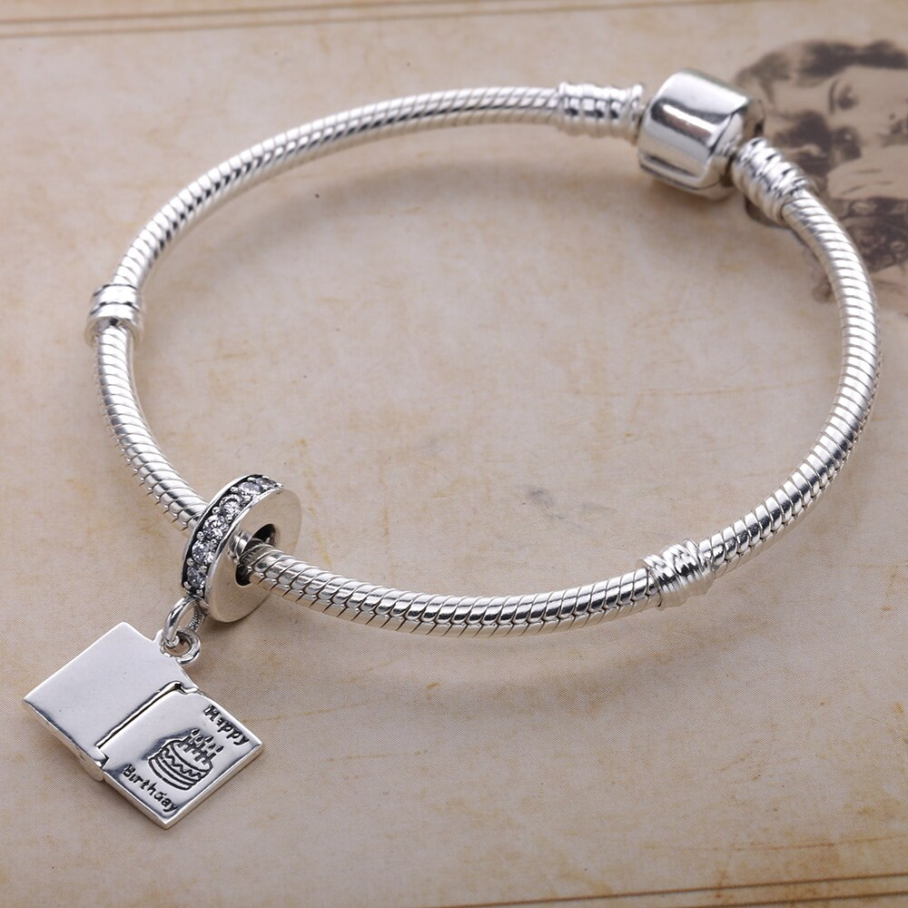 Pandora Happy Birthday Card Charm