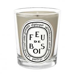 Diptyque Grey Feu De Bois Candle 190g